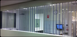 Image showing Polycarbonate Office Louvres