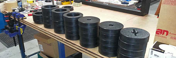 Machined Plastic Bushes