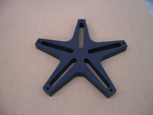 Nylon Cnc Routed Component