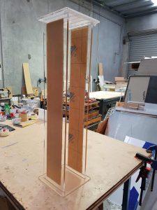 Cast Acrylic Plinth